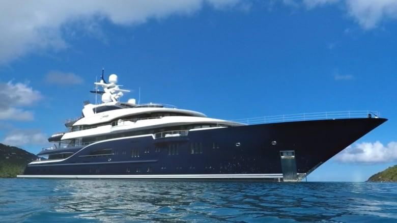 Solandge Luxury Yacht 85 1 Meter Lurssen For Sale With Mortola